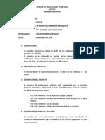 MEMORIA Y CALCULO INSTALACIONES SANITARIAS