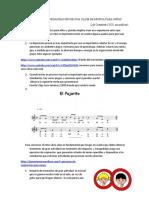 tips para la organización de una clase de música