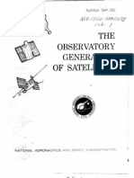 The Observatory Generation of Satellites