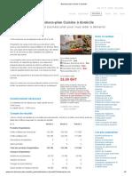 Business-plan Cuisine à domicile