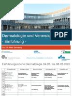 Dermatologie und Venerologie - Einführung SS 2020.pdf