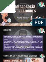 CLASE 3 FARMACOLOGÍA GENERALIDADES