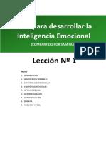 Guia para desarrollar la inteligencia emocional L1.pdf · versión 1.pdf