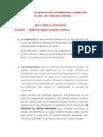 DIFERENCIA ENTRE INAFECTACION Y EXONERACION Y EJEMPLO DE CADA UNO.docx