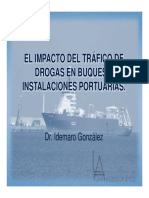 El trafico de drogas y su AFECTACIÓN en los buques y puertos