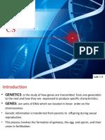 Lab 6 Genetics