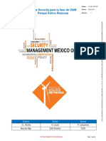 Plan de Security O&M Parque Eólico Reynosa