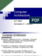 27301020 Computer Architecture