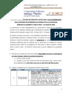 ACTA DE PLANIFICACIÓN ESTUDIANTE SAIA 2020-1 (14 MAYO)