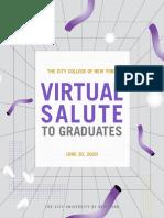 Virtual Salute to Graduates 2020