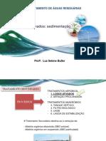 aula 11 ETE_Lodos ativados sedimentacao + exercício - Corrigida.pdf