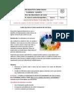 GUIA DE APRENDIZAJE INDICADOR DE PH - QUIMICA- NOVENO - SEM 8.