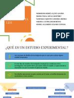 ESTUDIOS EXPERIMENTALES PRESENTACIÓN FINAL.pptx