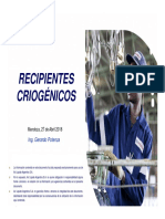 AISLANTES PARA RECIPIENTES CRIOGÉNICOS