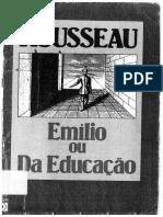 Emílio ou Da Educação - Jean-Jacques Rousseau