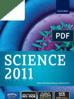 Science Catalogue 2011