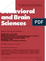 Catania, C. A., _ Harnad, S. (eds.). (1984). The Behavioral and Brain Sciences (Vol. 7).pdf