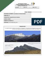 Programa de Geografía Física de Colombia FGR - I Sem