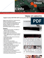 Triax Product Info [Triax St-hd527ci]-2 Screen