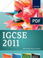 IGCSE Catalogue 2011