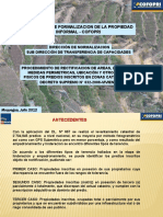 2. RECTIFICACION DE AREAS