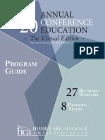 2020 Virtual Conference Program