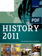 History Catalogue 2011