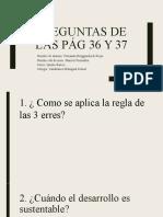 Preguntas de las pág 36 y 37