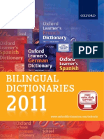 Bilingual Dictionaries Catalogue 2011