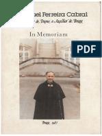 In Memoriam - D. Manuel Ferreira Cabral