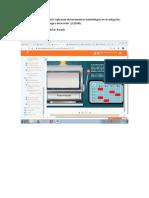 Evaluación interactiva unidad 4 Aplicación de herramientas metodológicas en investigación