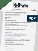CV Bertrand Lauzanne