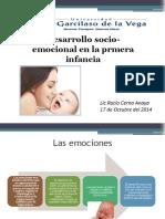 Desarrollo socio-emocional en la primera infancia.