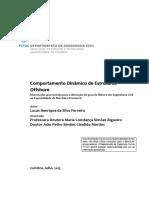 Comportamento dinamico de estruturas offshore