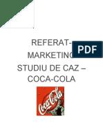 Referat despre Coca Cola