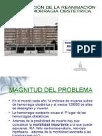 PROTOCOLO DE HEMORRAGIA OBSTÉTRICA MAYOR DEFINITIVO 2010