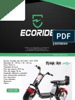 Motos Ecoride