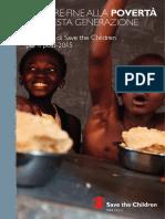 Mettere fine alla povertà in questa generazione