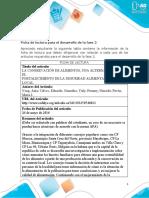 ARTICULO 1 Anexo 1 - Ficha de lectura para el desarrollo de la fase 2
