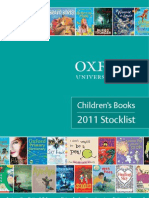 Oxford Children's Books Stocklist 2011