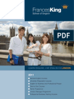 Catalogo Frances King School English Londres Intercambio