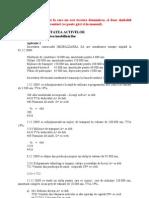 Aplicatii Rezolvate Bazele Contabilitatii