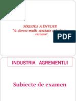 Industria agrementului-structura examenului  II  si III IF si IFR (1)