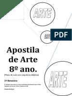 Apostila de arte 8 ano  1 bimestre.pdf
