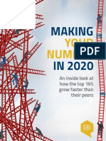 Making Your Number in 2020 Research Report