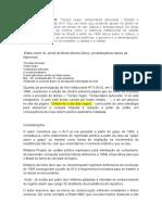 Resumo do Livro_Tempo negro, temperatura sufocante- Estado e sociedade no Brasil do AI-5