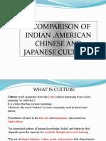 Culture Comparison Ppt