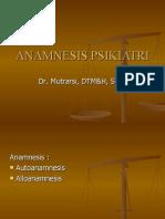 (05) Jiwa a Anamnesispsikiatri