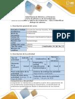 Guía de actividades y rúbrica de evaluación - fase 3  Identificar diálogo de saberes (1).pdf