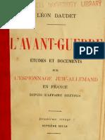 Léon Daudet L_avant Guerre
